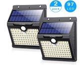 FlinQ | Set van 2 solarlampen LED