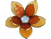 Fair & Fine   Waxinelichthouder Lotusbloem