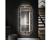 Decoratieve spiegel met LED-verlichting voor in de gang - Autumn Jungle