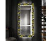 Decoratieve spiegel met LED-verlichting voor in de gang - Gold Jungle