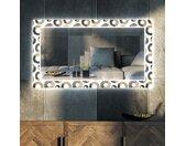 Decoratieve spiegel met LED-verlichting voor in de woonkamer - Donuts