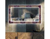 Decoratieve spiegel met LED-verlichting voor in de woonkamer - Gold Mandala