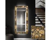 Decoratieve spiegel met LED-verlichting voor in de gang - Ancient Pattern