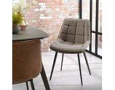 Gestoffeerde stoelen Kellia (set van 2)