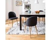 Gestoffeerde stoelen Sangba (2-delige se