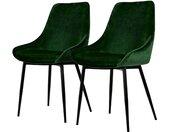 Gestoffeerde stoelen Lex (set van 2)