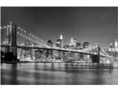 Memoboard Nighttime Manhattan Bridge II
