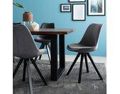 Gestoffeerde stoel Aledas lV (pootkleur)