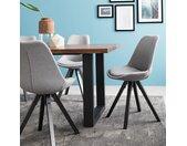 Gestoffeerde stoel Aledas V