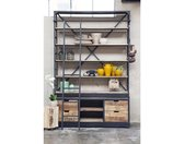 Boekenkast Industrieel Ladder Big - Giga Meubel