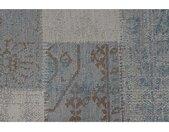 Garden Impressions Buitenkleed Blocko blauw 200x290 cm