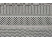 Garden Impressions Buitenkleed Stripes licht grijs 160x230 cm