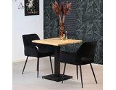 Bistrotafel Sven eikenhout 70 x 70 cm