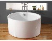Ronde vrijstaande badkuip LAGUNA - 316 l - 130  x  130  x  58 cm
