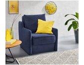 INOSIGN Fauteuil Tiny alfa fauteuil Fauteuil met geïntegreerde hocker, die indien nodig extra kan worden geplaatst