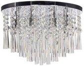 SPOT Light Plafondlamp LUXORIA Hoogwaardige lamp met echte kristallen, ledverlichting inclusief, tijdloos en elegant.
