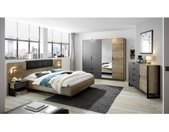Places of Style Slaapkamerserie MALTHE in trendy design (set, 5 stuks)