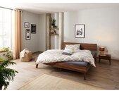 Home affaire Massief houten ledikant Natali van notenhout, futonbed, bedframe in een sublieme verwerking
