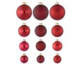 Thüringer Glasdesign Kerstbal Advent (set, 100 stuks)
