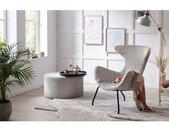 SalesFever Relaxfauteuil Oorfauteuil in een modern design