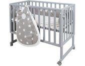 Roba® Wieg Safe asleep® 3-in-1 Little Stars (4-delig)