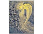 Artland Print op glas Engel van de nacht (1 stuk)
