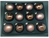 Thüringer Glasdesign Kerstbal (set, 12 stuks)