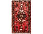 morgenland wollen kleed Hamadan Teppich handgeknüpft rot handgeknoopt
