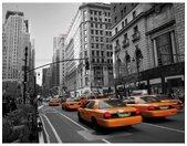 Wall-Art Vliesbehang Cabs in Manhattan