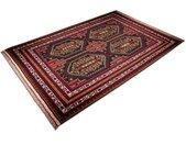 morgenland wollen kleed Afghan Teppich handgeknüpft blau