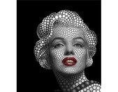 Wall-Art Vliesbehang Ben Heine Circlism: Marilyn Monroe