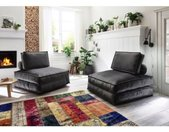 ATLANTIC home collection XXL-fauteuil XXL-fauteuil te veranderen in een logeerbed