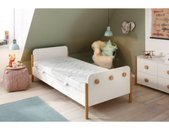 Lüttenhütt Kindermatras Teens Age 10-17 Tweezijdig te gebruiken matras met twee verschillend stevige ligzijden hoogte 17 cm