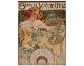Artland Print op glas Kalender illustratie voor Lefèvre-Utile (1 stuk)