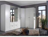 rauch DIALOG Kastenset Skagen Hoekkast, 2- en 4-deurs kast met laden en spiegel (3 stuks)