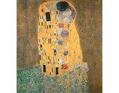 Wall-Art Vliesbehang Klimt - de kus