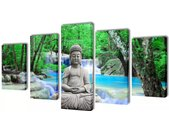 Canvasdoeken Boeddha 200 x 100 cm