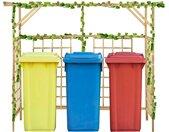 Pergola voor 3 containers gempregneerd grenenhout