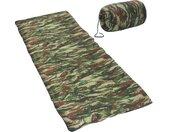 Slaapzakken 2 st envelop lichtgewicht 10  1100 g camouflage