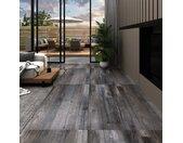 Vloerplanken zelfklevend 5,02 m 2 mm PVC industrieel houtkleur