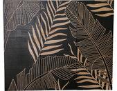 PTMD Wandpeel Neron Palms Hout, 120 x 145cm