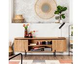 Kave Home TV-meubel Licia Mangohout, 160cm