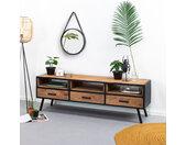 Sohome TV-meubel Florida Mangohout met staal, 160cm