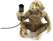 Tafellamp aap E14 Cheeta zittend goud klein