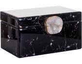 Jewellery Box Maeve black marble