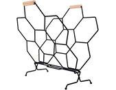 tijdschriftenrek Honeycomb 40 x 45 cm matzwart