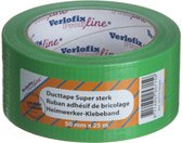 duct tape supersterk 50 mm x 25 m PVC groen