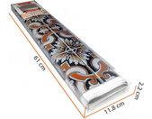 decoratiesticker talavera tegels 108x108 cm PVC blauw/bruin
