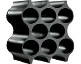flessenrek Set-Up 36,4 x 35,3 cm zwart