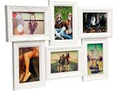 fotolijst Magic 6 foto's 28,5 x 44,5 cm wit